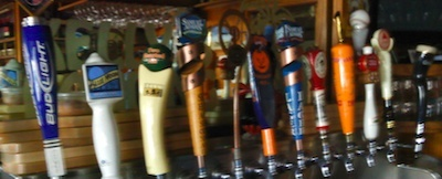 Our twelve draft taps